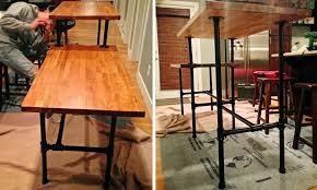 assembling steel pipe sitting standing desk