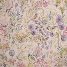 Curtain Fabric Gordon Smith Malvern Ltd Voyage Morning Chorus Curtain Fabric