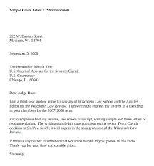 Format Of Cover Letter Cover Letter Format Format Cover Letter Ideal
