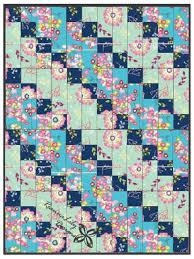 Super Easy Quilt Patterns Free Magnificent StripPieced Diagonal Beginner Quilt AllFreeSewing