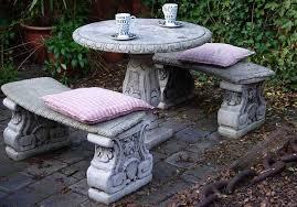 concrete garden bench. Concrete Garden Furniture Is It For You Home N Gardening Tips Bench