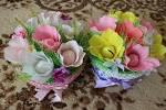 Как оформить корзину с цветами
