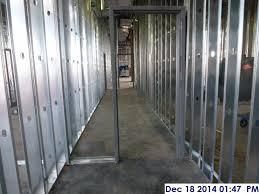 Interior metal framing Furring Smucker Company 2nd Interior Metal Framing Facing East