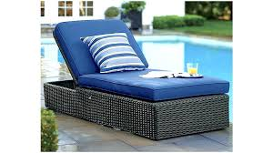outdoor lounge cushions blue
