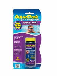 Aquachek Select Color Chart New Aquachek Shockchek Swimming Pool Spa Hot Tub Test Strips