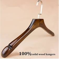 new vintage wooden clothes hangers for women 40 3cm thickening100 solid wood clothes hanger