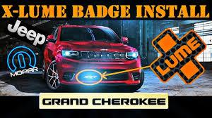 Lighting Trendz Srt Badge X Lume Illuminated Badge Install Jeep Srt