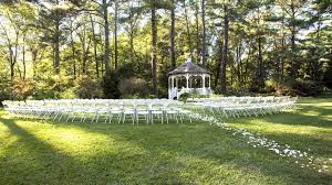gazebo wedding ceremony in fayetteville
