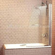 bathtub glass panel bathtub half glass panel features a shower panel for bathtubs b opens from bathtub glass