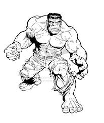 Bruce banner was transformed into the incredibly powerful creature called the hulk. Hulk Cartoon Pictures Coloring Home