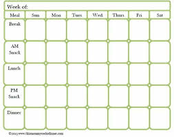 Meal Prep Chart Meal Prep Meal Planner Template Meal Planner Printable
