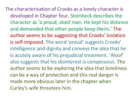 Of Mice And Men Loneliness Essay Crooks