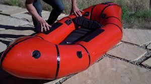 Biluta Light Packraft Whitewater Series Set Up Alpacka Raft Packrafts
