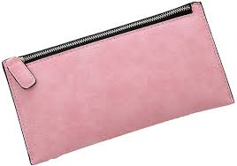 Light Pink Leather Wallet Womens Leather Wallet Zipper Wallets Light Pink At Amazon