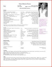 Free Acting Resume Template Best Of Acting Resume Template Free Personal Leave Cover Letter 48