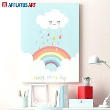 wall art rainbow afflatus cloud rainbow landscape wall art canvas painting canvas posters and prints art wall art rainbow
