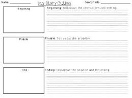Story Template Beginning Middle End For The Love Of First Grade Beginning Middle End Story