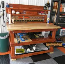 bench with shelf. Add A Shelf To Your Bench With