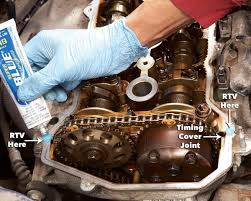 install new gasket valve cover