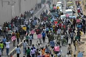 Image result for kaduna workers protest