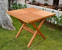 cosco wood folding table square wooden folding table with two folding chairs e05