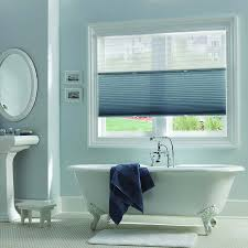 ... Bathroom Window Blinds Waterproof Bathroom Blinds Pull Up And Down Window  Shades White Pedestal ...