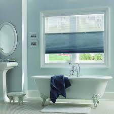 ... Bathroom Window Blinds Waterproof Bathroom Blinds Pull Up And Down  Window Shades White Pedestal ...