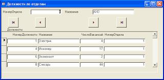 База данных Учет кадров на предприятии Курсовая работа на ms  база данных кадровый учет sql таблица связь предприятие отчет печатныйдокумент запрос