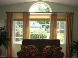 arch window curtains large