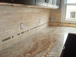 Travertine Kitchen Backsplash Kitchen Backsplash Designs Travertine 01304220170514 Ponyiex