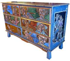 Mexican Hand Painted Furniture - Cool Rustic Check More At  Http://cacophonouscreations Pinterest