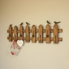 Long Coat Hook Rack Extra Long Garden Fence Style Wall Coat Hook Rack Fence styles 9