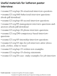 Resume For Pastor Resume Letter Collection
