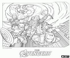 Disegni Di Avengers I Vendicatori Da Colorare E Stampare