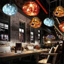 Großhandel Vintage Modern Led Loft Nordic Dekor Gold Glas Pendelleuchten Leuchten Hanglamp Industrial Design Lampe Für Küche Insel Schlafzimmer