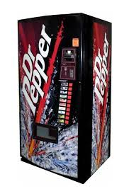 Dr Pepper Vending Machine For Sale Mesmerizing Vendo Model 48 Dr Pepper Burst Vending World