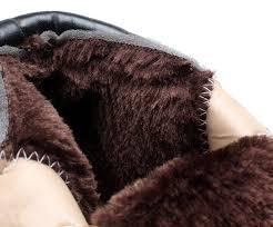super warm men s winter leather boot