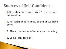 self esteem and self confidence 15