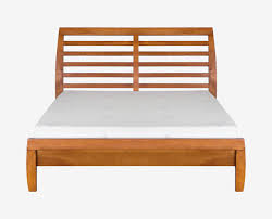 Low rise airy design nordic style bed