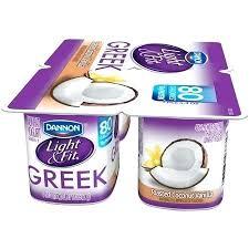 light and fit vanilla greek yogurt light fit vanilla nonfat yogurt oz 4 count in light and fit vanilla greek yogurt