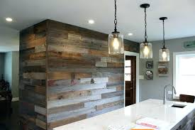 l and stick reclaimed wood to barn door co feature wall panels home depot