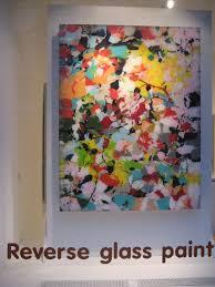 michael burges reverse glass paintings