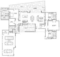 Single Story Small House Plan 04 DWG NET Cad Blocks And House Open Floor Plans For One Story Homes