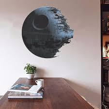 45cm removable star wars wall stickers art vinyl decal kids bedroom home wall decor part