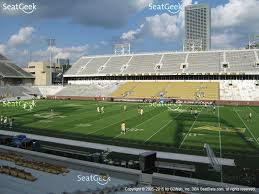 view seating charts georgia tech yellow jackets football at bobby dodd stadium section 104 view