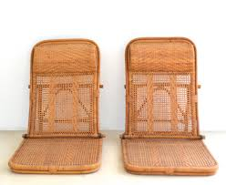 mid century modern mid century rattan and bamboo beach chairs for