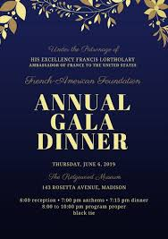 Dinner Program Templates Midnight And Gold Gala Event Program Templates By Canva