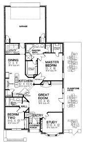 inspiring rear entry floor plans rear entry floor plans narrow lot house plans with rear entry