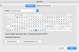 Symbols On Keyboard Inserting Symbols Is Harder In Office For Mac Office Watch