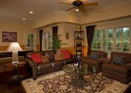 Family Room Design Basement Retreat Luxurious Apartment Family